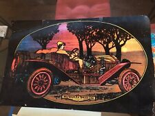 "1912 ""SIMPLEX SPEED CAR"" BLACK-LIGHT POSTER. From The 1970s."