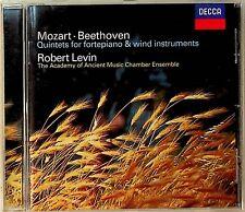 Mozart & Beethoven: Quintets for Fortepiano & Wind Instruments CD -Robert Levin