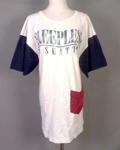 vtg 80s 90s single stitch Sleepless In Seattle T-Shirt Movie Film Rare style XL
