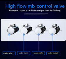 3-way hot cold water concealed mixer tap shower fitting shower mixer