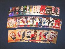 2008-09 FLEER ULTRA HOCKEY 44 DIFFERENT RC'S GOLD RC'S AND INSERTS (18-80)