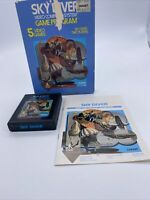 1978 Skydiver Atari 2600 Game Plus Box And Booklet Tested And Working