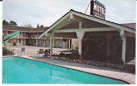 "Santa Cruz CA  ""The Silver Sands Motel""  Postcard California"