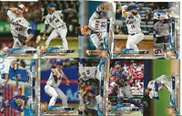 NEW YORK METS 2018 Topps Update BASE TEAM SET (10 Cards) Bautista RC+