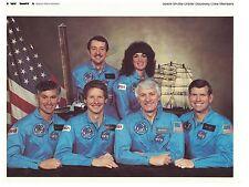 NASA - Space Shuttle Orbiter Discovery Crew Members.  #02 NASASSOCM