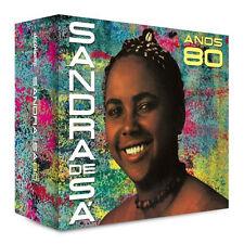 CD SANDRA DE SÁ – ANOS 80 (04 CDs) (NEW/SEALED)
