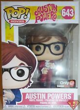 "Austin Powers Pop Movies 4"" Vinyl Figure #643 Game Stop Exclusive Funko 2018"