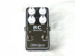 Used Xotic Effects RC Booster V2 Guitar Effects Pedal