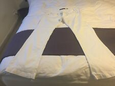 Miss Sixty White Trousers Size 34