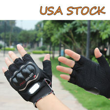Pro-Biker Bicycle Short Sports Cycling Motorcycle Powersports Half Finger Gloves