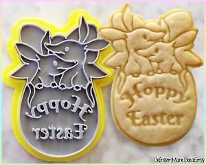 Hoppy Easter Australian Bilby Easter Cookie Cutter Baking Ceramics Fondant Tool