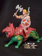 Masters Of The Universe He Man + Battle Cat