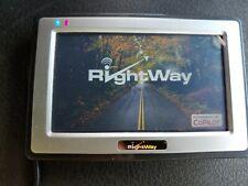 Rightway Portable Navigation Device GPS RW400 Windows CE Core 5.0