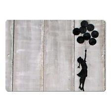 "Banksy Art Balloon Girl Floating Mini 5"" x 7"" Metal Sign"
