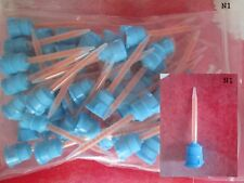 Blue Mixing Tips 1:4 , 50 Stück Packung, N1 NEU