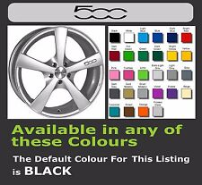 FIAT 500 Decals/Stickers for Alloy Wheels x 6