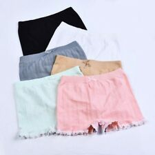 Women Cable Knit Underwear Panties Briefs Knickers Shorts Lace Edge Safety Pants