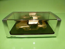 SPARK 1:43  MERCEDES BENZ SLS AMG 2009 GOLD - ORIGINAL BOX - IN MINT CONDITION