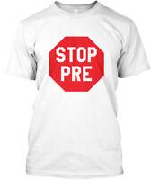 Comfy Stop Pre Run Marathon Running Triathlon - Hanes Hanes Tagless Tee T-Shirt
