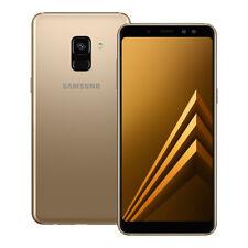 "NUEVO Samsung Galaxy A8 2018 (SM-A530F/DS) 5.6"" 32GB Doble SIM Desbloqueado ORO"