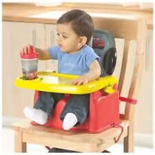 The First Years Disney Cars Feeding Booster Seat  a contoured & comfortable way