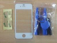 Cristal de Pantalla Tactil BLANCA para Apple Iphone 4S + Adhesivo + Herramientas