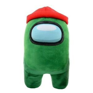 Among Us 12 Inch Plush - Green with Beanie