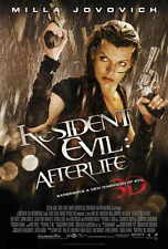 RESIDENT EVIL: AFTERLIFE Movie POSTER 27x40 Milla Jovovich Ali Larter Wentworth