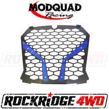 MODQUAD RACING FRONT GRILL FOR THE 18+ RZR XP TURBO S - BLUE
