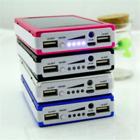 Universal Portable 300000mAh Solar Power Bank For Phone Dual USB Battery Charger