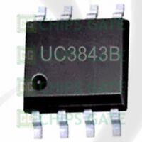 10pcs UC3843BD UC3843B UC3843 3843B SOP-8 CONTROLLERS