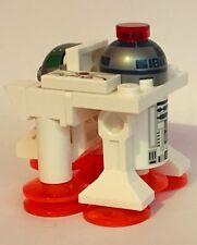 ORIGINAL lego STAR WARS PARTS - CUSTOM R2D2 TURBO JET - DOUBLE HEAD - CHRISTMAS