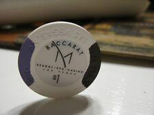 New listing $1.00 Baccarat M Resort Spa Casino Las Vegas