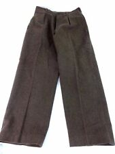 VTG PAULHAN & FILS MONTPELLIER ARMEE FRENCH MILITARY WOOL PANTS SIZE 30 X 30