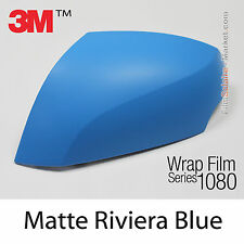 152x1000cm LÁMINA Mate Azul Riviera 3M 1080 M67 Vinilo CUBIERTA Nuevo Series