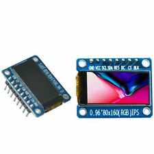 0.96'' Inch IPS Color LCD Display Module 80x160  ST7735 SPI 3.3V for Arduino