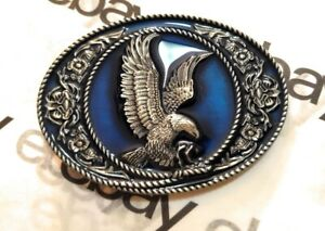 Classic American EAGLE ` Full Metal BELT BUCKLE COUNTRY Western MB1 USA seller