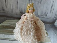 Madame Alexander Melinda cissette 1969 doll vintage pink dress formal