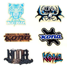 KONA BICYCLES Ultra Rare 2009 Sticker Pack - Genuine Product - NEW