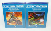Lot 2 STAR FRONTIERS Alpha Dawn NEUF BLISTER SF1 & SF2 1982 TSR Vintage RPG jeu
