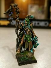 Warhammer wood elf elves male spellsinger painted competition level