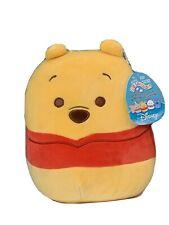 "Squishmallows Kellytoy 2021 Disney 8"" Winnie the Pooh Bear Plush Doll Toy"