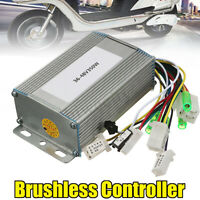 350W Brushless Motor Controller For Electric Hall eBike Bicycle Scooter 36V-48V