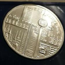 """10 Mark DDR - Gedenkmünze """"25 Jahre DDR - Gebäude"""" 1974, Silber, original, st"""
