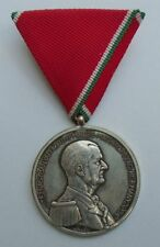 HUNGARY WWII HORTHY LARGE SILVER BRAVERY MEDAL