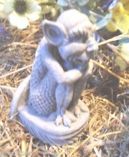 Latex only small  gremlin / gargoyle concrete plaster mold mould