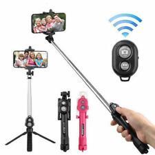 Wireless Bluetooth Selfie Stick Foldable Handheld Monopod Shutter Mini Tripod