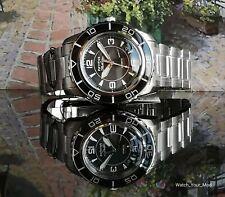 Seiko 5 SNZH57J1 Japanese FFF watch black modern fifty five 55 fathoms WARRANTY