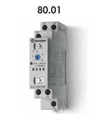 FINDER 80.01.0.230 TEMPORIZZATORE MODULARE 16A - 250 V - 12...230V AC/DC