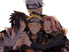 Poster A3 Naruto Shippuden Grupo 7 Naruto Kakashi Sasuke Sakura